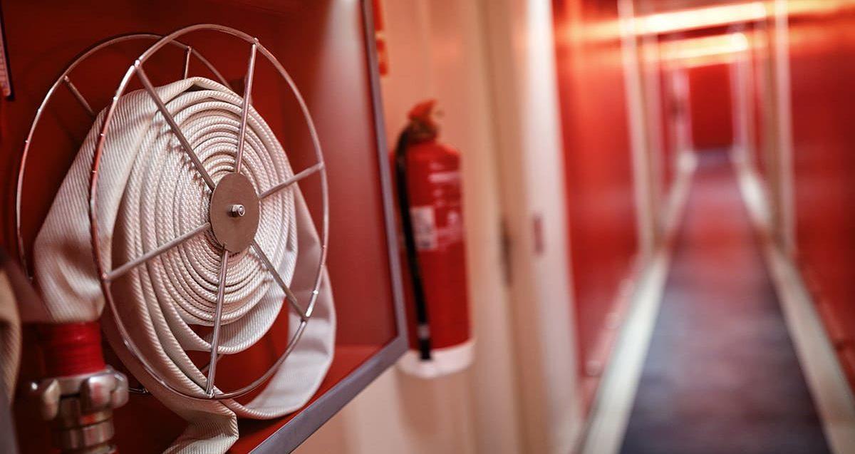 Equipo contra incendios Bizkaia